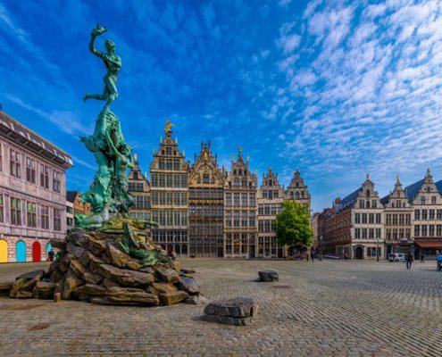 Citytrip Antwerpen markt
